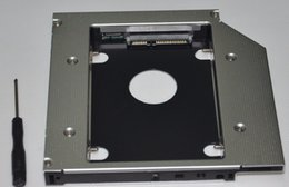 Wholesale Hdd For Asus - Wholesale- 2nd SATA Hard Drive HDD SSD Optical Bay Caddy For Asus N56VB n56vz-s4095v Replace uj8b0 DS8A9SH DVD
