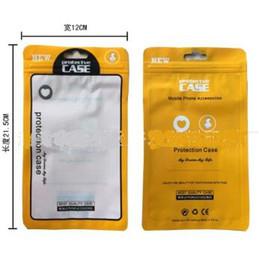 Caja de bloqueo del teléfono online-Cajas de paquete de venta al por menor de la cremallera universal Cajas de poliéster de PVC de OPP PP para iPhone 6 Plus Funda de teléfono Samsung Galaxy S7 Funda de piel