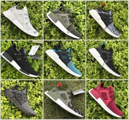 Wholesale Skull Boot Socks - NMD XR1 Runner Duck Camo X City Sock Green White Mastermind Japan Skull Pk Wool Boost Top quality Fashion Athletic Running Shoes Size 36-46