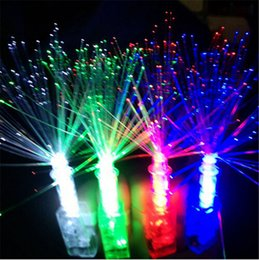 Wholesale Cheap Led Light Up Toys - Wholesale- 10 Pcs  Lot LED Finger Lights Toy High Quality Cheap Light Up Toys