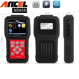 Wholesale Abs Airbag Scanner Tools - code readers scan tools sas abs airbag reset ancel ad610 engine analyzer obd2 car diagnostic tools mechanics automotive scanner