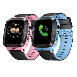 Wholesale High Quality Touch Screen Watch - Baby Watch Phone 1.44inch Touch Screen Smart Watch kid child Wristwatch Call Monitor Tracker Alarm Lighting Camera anti-lost High Quality