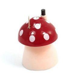 Wholesale En gros poche en plastique château conception de champignons boîte automatique distributeur de cure dents boîte