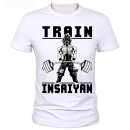 Wholesale Dragon Ball Z Clothes - New Fashion 2017 The Dragon Ball Z T Shirt To Beat Goku - Krillin Fashion T-shirt Tee Camiseta Clothing
