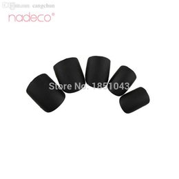 Wholesale Fashion Press - Wholesale-False Nails Tips Press On Manicure Fashion Design Short Length No Need Glue Matt Black