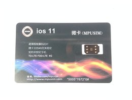 Wholesale Free DHL NEW USIM G Unlock all IOS for US T mobile Sprint Fido DoCoMo and all iPhone carriers LTE4G G GPPLTE RSIM11