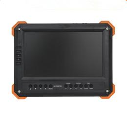 2020 ahd tester Nuevo 7 pulgadas HD CCTV Tester Monitor TVI AHD CVI Analog Camera Tester 5MP 4MP 1080P HDMI VGA Entrada 12V2A ouput ahd tester baratos