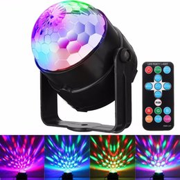 Wholesale dance stage dj - Led Stage Strobe Lights Color Changing Auto Sound Actived DJ Lights with Remote Control for Bar DJ Ballroom Home Club Wedding Dancing