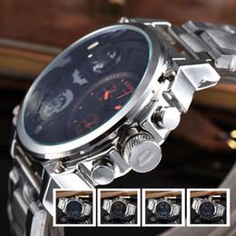 Wholesale Popular Belt Brands - DZ brand Batman men's watches European Popular luxury watches steel belt fashion sports atmospheric watches AAA Relogio DZ montre homme