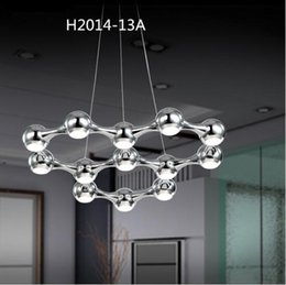 Wholesale Crystal Black Chandelier Lamp - 2017 Luxury Crystal Chandelier Lighting Chrome White Black Lamps Art Lights Ceiling Mounted Ball Chandeliers Luster suspension Light