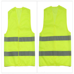 Wholesale Wholesale Reflective Safety Vests - High Visibility Working Safety Construction Vest Warning Reflective traffic working Vest Green Reflective Safety Clothing