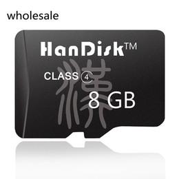 HanDisk Negro 8G Tarjeta Micro SD Calidad al por mayor 8 GB Tarjeta de memoria 8 G TF Tarjeta CE Certificación FCC desde fabricantes