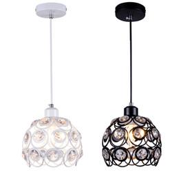 Moderna personalidad creativa minimalista de una sola cabeza led lámpara colgante luz comedor barra 3 cabeza hierro araña de cristal desde fabricantes