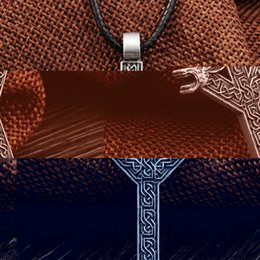 Wholesale Elder Futhark Runes - Wholesale-1pcs Elder Futhark Rune Pendant NECKLACE ALGIZ Rune Yggdrasil Viking Amulet PENDANT Runic Nordic Talisman Pendant Necklace