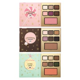 Wholesale Hotel Shadow - New arrival Eye Shadow Grand Hotel Cafe LATTE  MOCHA  COOKIE EyeShadow Pallete 7 Color Eye shadow + GIFT JJD2322
