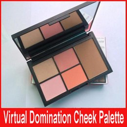 Wholesale Deep Throat - Virtual Domination Cheek Palette Laguna Bronzer Deep Throat Blush Highlighting Blush Powders 4Blushers 1Bronzer XMAS Limited Edition