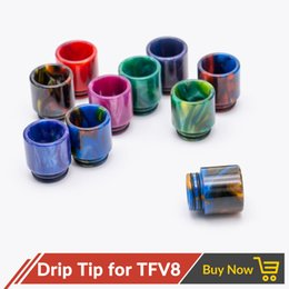 Wholesale Stainless Steel Penis - Wholesale Epoxy Resin Stainless Steel + Stone Drip Tip Ewelry SMOK TFV8&TFV12 drip tip ,510drip tips penis