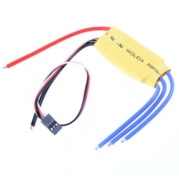 Wholesale Rc Helicopter Speed - Simonk firmware 30A Brushless Motor Speed Controller RC BEC ESC T-rex 450 V2 Helicopter Boat F5 AFD_508