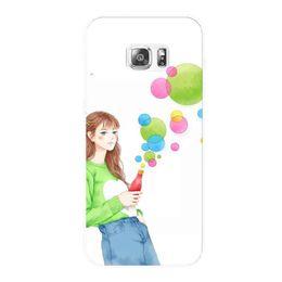 Wholesale Case S4mini - For Samsung mobile phone case cartoon protection shell s5 s6 s7 s4mini s7edge case note 4 note5 note7 fashion phone shell mobile phone crash