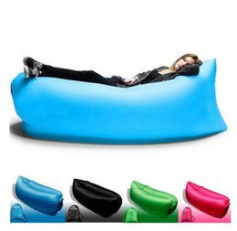 Wholesale Beach Beds - Fast Inflatable waterproof outdoor Camping and beach sleeping lazy bed,10 Seconds open