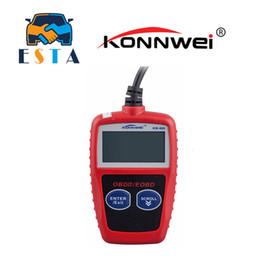 Wholesale Universal Diagnosis Tool - Wholesale- KONNWEI KW806 Universal Car OBDII Can Scanner Error Code Reader Scan Tool OBD 2 BUS OBD2 Diagnosis Scaner PK AD310 ELM327 V1.5