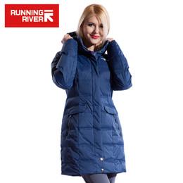 Wholesale Waterproof Overcoat - Wholesale- RUNNING RIVER Brand Winter Ski Jacket For Women 3 Colors Size S - 3XL Woman Waterproof Winter Outdoor Sports Overcoat #L4950
