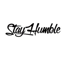 Wholesale Decorate Vinyl - New Product For Stay Humble Sticker Racing Jdm Funny Car Styling Drift Car Wrx Window Vinyl Decal Accessories Decorate
