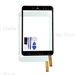 Wholesale Tablet Pc Screen Repairs - Wholesale- 7.85 inch Touch Screen for RoverPad Sky 7.85 3G Black Tablet PC Digitizer Glass Panel with Free Repair Tools