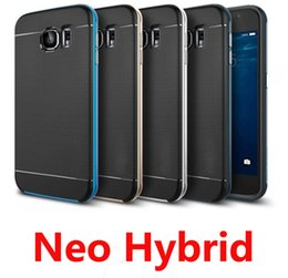 Wholesale Sgp Slim Armor For S4 - SGP Neo Bumblebee Hybrid Case Heavy Duty Rugged Slim Armor Shockproof back cover For iPhone 4 4s 5 5s 6 6s 7 plus Samsung s3 s4 s5 s6 s7