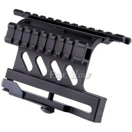 Tactique Picatinny Weaver Série AK Montage latéral sur rail Rapide Style QD 20mm Détachée Double face AK Portée Sight Montures Bracket Rifle ? partir de fabricateur