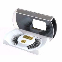 Wholesale Machine Made - 100% Real Mink Natural Thick False Fake Eyelashes Eye Lashes Makeup Extension Beauty Tools Wholesale Free Shipping