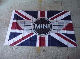Wholesale Mini Car Flags - Wholesale- mini car racing flag , 90X150CM size,100% polyster,mini banner