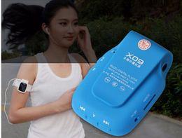 Wholesale Mini Clip Mp3 4gb - 2016 New Arrive Original RUIZU X09 Sport MP3 Player 4gb Clip Mini With Screen Can Play 30 Hours, With FM,E-Book,Clock,Data