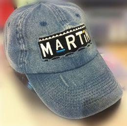 Wholesale Hat Custom Man - Martin Show Cap baseball Retro Dad Hat Drake OG Custom 90s X Logo Vtg Kanye West Boost 350 casquette hats men bone swag