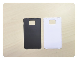 Wholesale Housing For Galaxy S2 - Black White Battery Door For Samsung Galaxy S2 SII I9100 Back Housing Cover Rear Case + Tracking