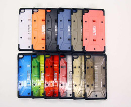 Wholesale Hard Plastic Case Box - For iphone 7 plus Hybrid Transparent Shockproof Armor Hard Case Cover for iphone 5S 6 plus Samsung Galaxy S6 S7 edge w  Retail Box with LOGO