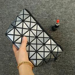 Wholesale Wholesale Bao - Luxury Brand Women Cosmetic Bags Variety Shape Geometry Style Small Bao Bao Cosmetics Cases Diamond Lattice Female Makeup Bag with DHL