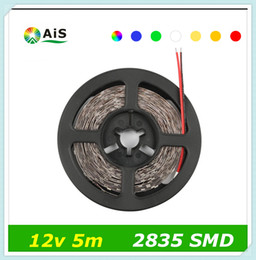 Wholesale More Brighter - 1Pack High Luminous Flux 2835 SMD 5M 300 LED Strip light More Brighter Than 3528 3014 Lower Price 5050 Decoration String Lamp Tape