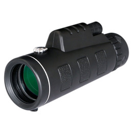 Wholesale Handheld Compass - 30PCS Day and Night Vision HD 40x60 Handheld Optical Monocular Outdoor Camping Hunting Telescope Zoom With Compass Tripod Phone Clip
