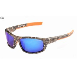 Wholesale Fishing Sunglasses - Top Driving Fishing Outdoor Sun Glasses Camouflage Frame Polarized Sunglasses Men Women Designer De Sol 861