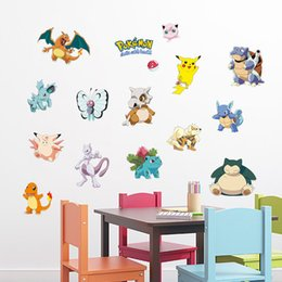 Wholesale Wall Wizard - pvc fashion Creative DIY wall sticker for child bedroom Carved Removable cute animal Wizard baby cartoon art Sticker Decor 2017 Wholesale