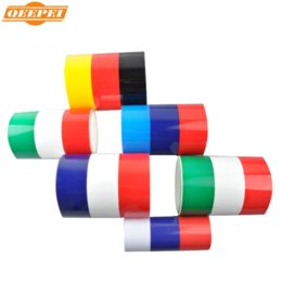 Wholesale 3d Stickers Italy - 5M 4 Color 3D Car Sticker Germany Italy UK Flag Stripe Car Hood Vinyl Sticker Body Decal Styling Vehicle Automobile Pegatinas