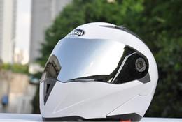 Wholesale White Motorcycle Helmet Full Face - motorcycle Helmet JIEKAI 105 motorbike helmet double lens helmetFree shipping