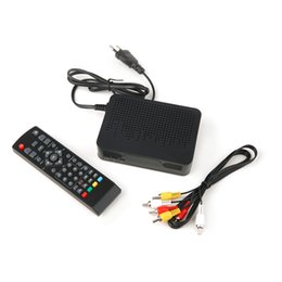 Wholesale New T2 - Wholesale- 2017 New High Definition Digital Video Broadcasting Terrestrial Receiver DVB-T2 Black