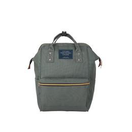 2019 vintage style leinwand rucksack Einfachen Stil Mode Nylon Rucksack Leinwand Schultasche Rucksäcke Frauen Vintage Brandmale Frauen Rucksack Jugend Tasche