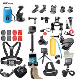 Wholesale Diving Kit - Accessories set for go pro hero 5 4 3 kit mount for SJCAM SJ4000   xiaomi yi camera   eken H9 H9R