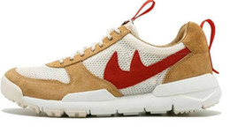Wholesale Vintage Mars - Tom Sachs x Craft Mars Yard 2.0 TS NASA Running Shoes For Men Natural Red Crafts Casual shoes Designer Shoes Zapatillas Vintage 36-44