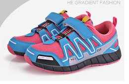 Wholesale New Girls Sneakers - 2017 New Brand Children Shoes Sport Shoes Boys and Girls Sneakers Kids Running Shoes for Children size:25-37 Chaussure
