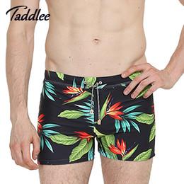 Wholesale Swimwear Men Enhancing - Wholesale- Gailang Brand Men Swimwear Sports Swimsuits Swimming Boxer Trunks Surf Board Shorts Inside Pad Enhance Swim Suits Boxer Big Si