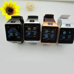 Wholesale Multi Sim Support - 2016 New Smart Watch dz09 With Camera Bluetooth WristWatch SIM Card Smartwatch For Ios Android Phones Support Multi languages